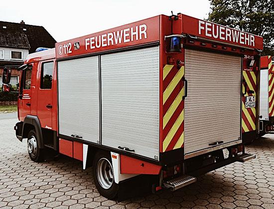 TSF-W mit Autobahnreflektoren
